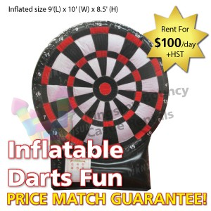 Kingston Bouncy Castle Rentals - Separate Castles 2014 - Inflatable Darts Fun