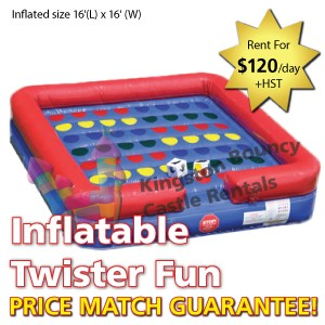 Kingston Bouncy Castle Rentals - Separate Castles 2014 - Inflatable Twister Fun