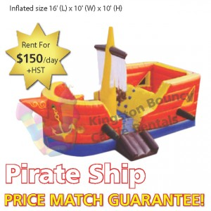 Kingston Bouncy Castle Rentals - Separate Castles 2014 - Private Ship