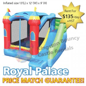 Kingston Bouncy Castle Rentals - Separate Castles 2014 - Royal Palace