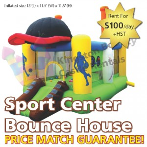 Kingston Bouncy Castle Rentals - Separate Castles 2014 - Sports Center Bounce House