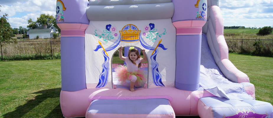 Children having fun at party - Kingston Bouncy Castle Rentals Party Center
