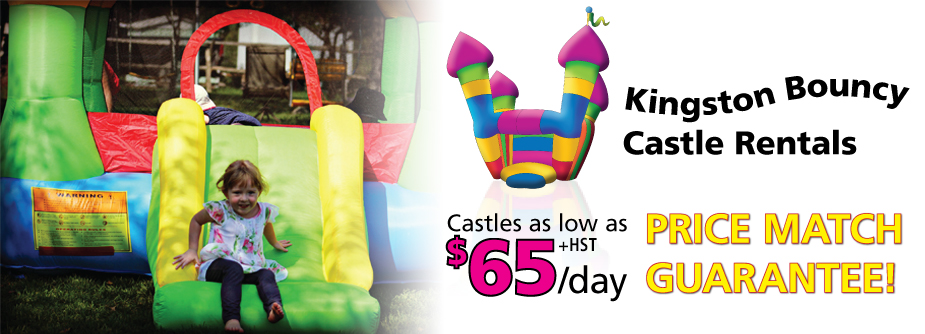 Take advantage of Kingston Bouncy Castle Rentals Price Match Guarantee!